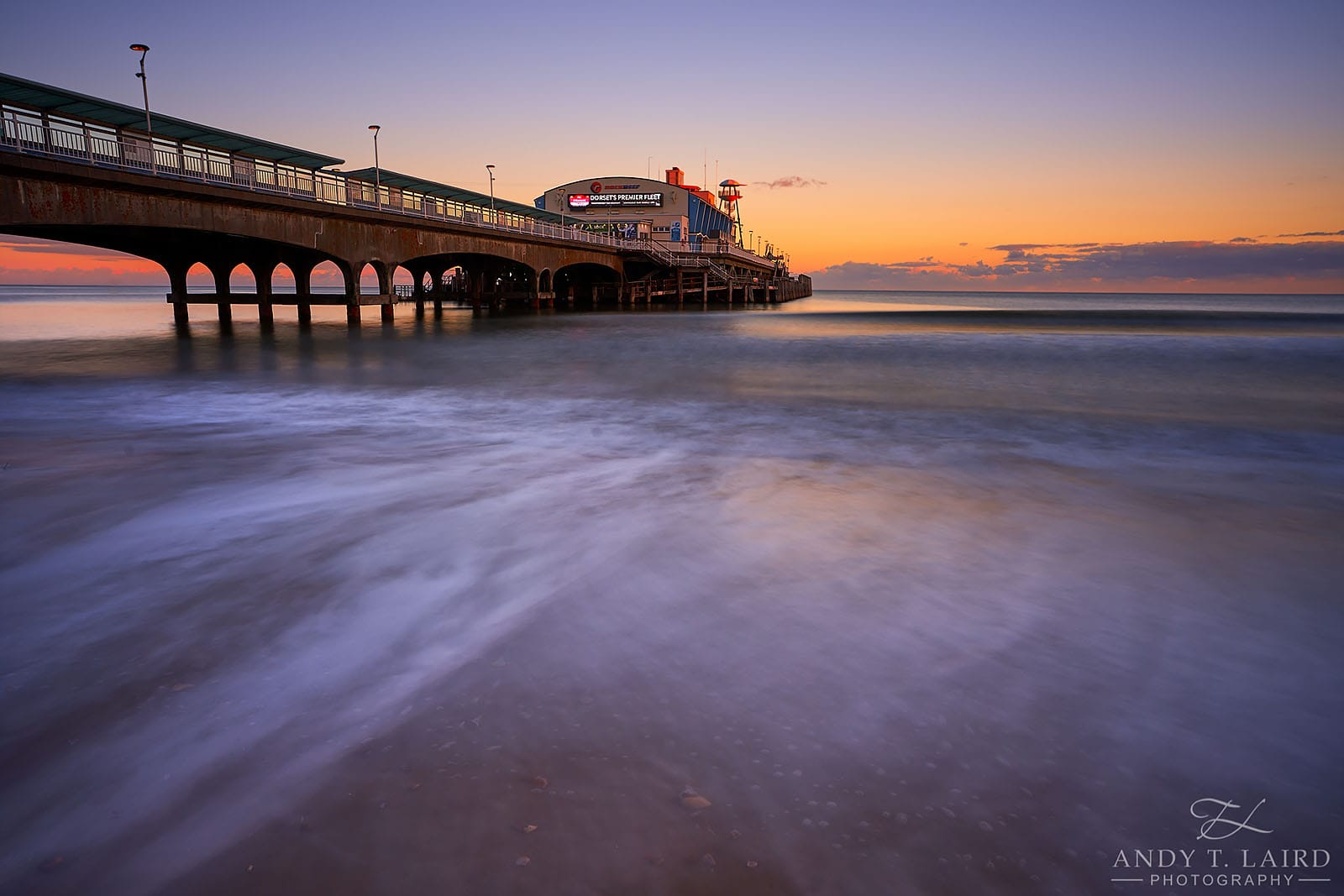 Architecture Bournemouth Pier Sunset Photography